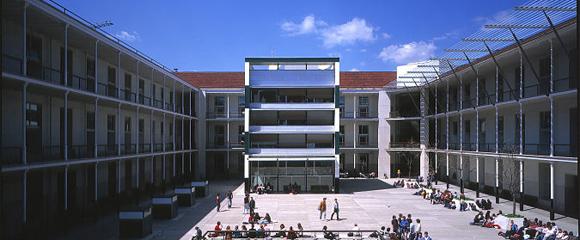 El campus de la Ciutadella de la UPF, on s'imparteix el grau d'Estudis Globals.